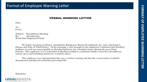 Employee Warning Letter Visiting Card Font Size In Coreldraw Business File Extension Free Template Front And Back Blue Psd Typewriter Stylish Download Elegant