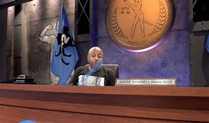 Judge Court Paddle Guilty Rawlings Donnell Animated