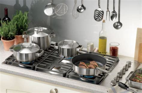 42 inch 6 burner Miele gas cooktops