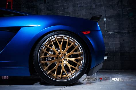 Adv1 Wheels Lamborghini Gallardo Adv100ts Sl Gold Edition