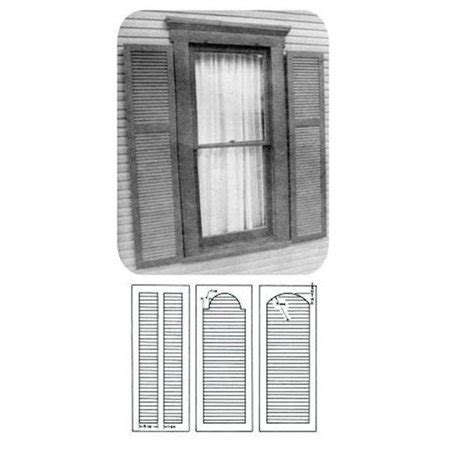 woodworking project paper plan  build plantation shutter