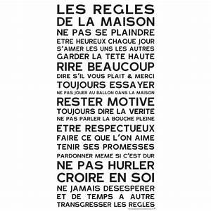 Affiche Les Regles De La Maison : les r gles de la maison home rules ~ Melissatoandfro.com Idées de Décoration