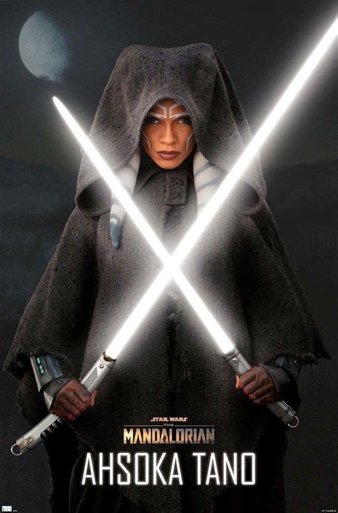 Ahsoka poster The Mandalorian (2)