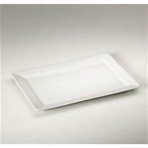 Assiette Rectangulaire Blanche : assiette porcelaine rectangulaire blanche assiettes comparer les prix sur publicit ~ Teatrodelosmanantiales.com Idées de Décoration