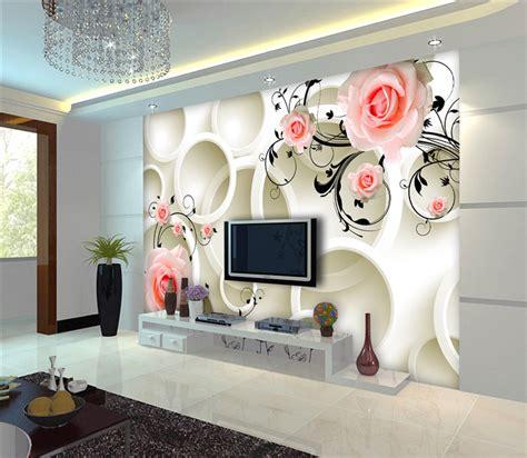 high quality  wallpaper white rose flower design