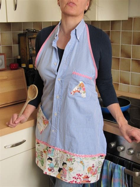 repurpose mens shirts  aprons sortrachen