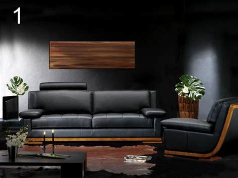 canape cuir bois un avenir pour le canapé cuir et bois