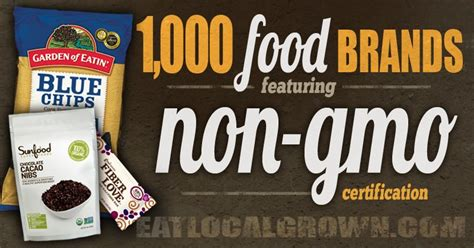 1,000 Food Brands That Are Verified Nongmo  Herbs Info