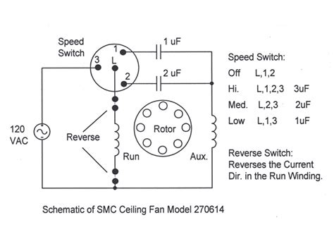3 Speed Ceiling Fan Switch Wiring Diagram by 3 Speed Reversable Ceiling Fan Wiring Diagram Wiring