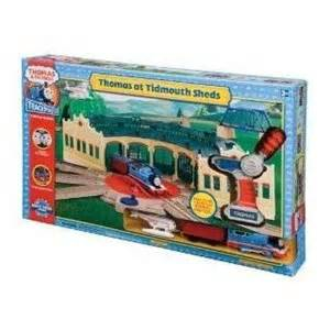 thomas trackmaster tidmouth sheds train set motorized