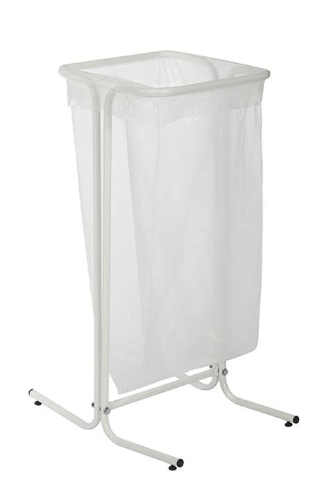 support sac poubelle cuisine support sac poubelle rossignol 110 litres sur pieds blanc