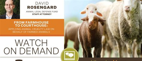 From Farmhouse to Courthouse: Applying Animal Cruelty Law ...
