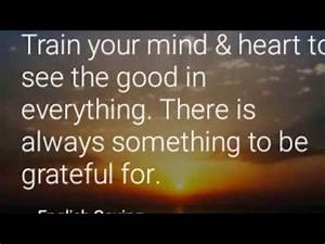 Best Inspirational Thoughts & English Proverbs - YouTube