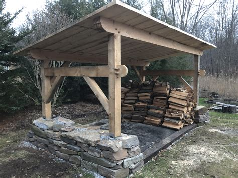 Building A Shed R by Finished Up The Woodshed In Time For Winter Woodworking