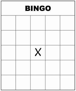 free printable bingo cards for kids and adults blank With kids bingo template