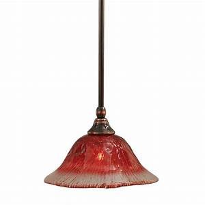 Filament design concord light black copper pendant with