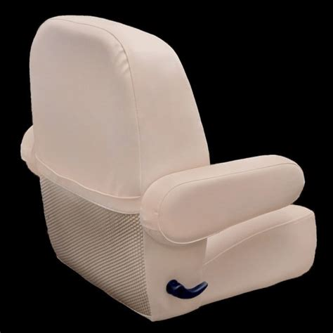 Sweetwater Pontoon Captains Chair by Sweetwater Deluxe White Reclining Pontoon Boat