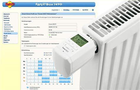 fritzbox  jetzt mit heizkoerperthermostat unterstuetzung