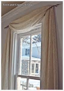 one dollar no sew curtains town country living