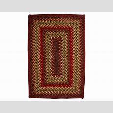 Homespice Decor Jute Braided Rectangular Brown Area Rug
