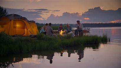 Canada Camping Gifs Cinemagraph Alberta Tent Tourisme