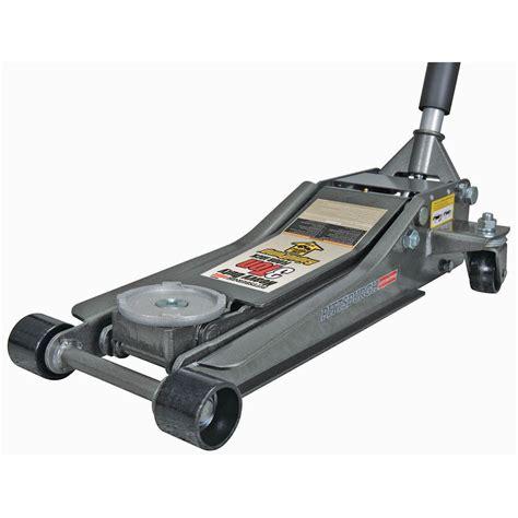 autozone low profile floor 3 ton low profile steel heavy duty floor with rapid 174