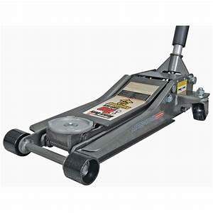 3 ton low profile steel heavy duty floor jack with rapid pumpr With low profile floor jacks