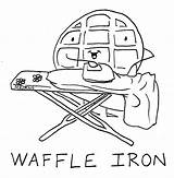 Waffle Coloring Waffles Iron Drawing Sheets Yahoo Template Colouring Catacomb Nutcracker Firefly Belgian Getdrawings Published Bohemian Bedroom sketch template