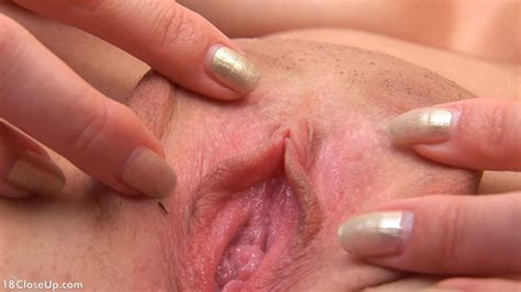 Carolyns Orgasmic Contractions Close Up