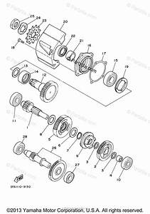 Yamaha Atv 2005 Oem Parts Diagram For Transmission