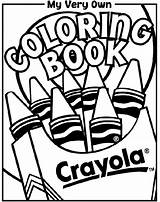 Coloring Crayola Pages sketch template
