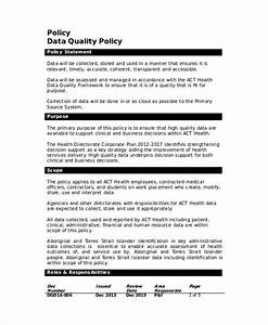Data Management Policy Template 39 Data Management Plan Template Barista Resume Template Barista Resume Cover Letter