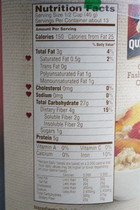 oatmeal  healthy   heavy carb  includes