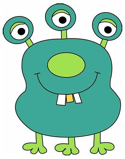 Monster Three Legged Clip Legs Eyes Teeth