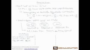 Dreisatz Berechnen : prozentrechnen mit prozentformel und dreisatz prozentwert prozentsatz und grundwert berechnen ~ Themetempest.com Abrechnung