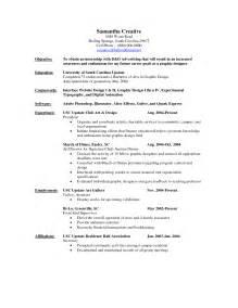 college resume exles for internships intern resumes