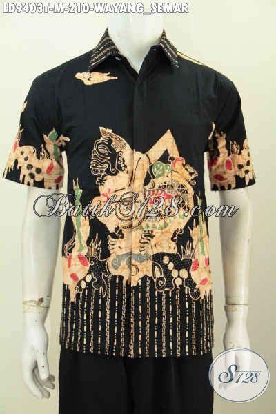 Kalung Motif Semar busana batik kerja keren motif wayang semar pakaian batik