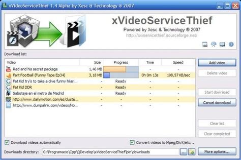 xvideoservicethief sourceforge net