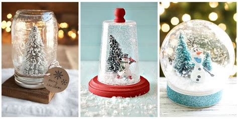 traditional christmas snowglobes 13 diy snowglobes that will get you excited for how to make snow globes