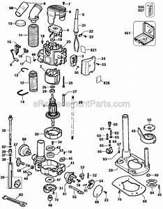 Dewalt Dw621 Parts List And Diagram