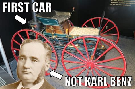karl  canada   invented  automobile