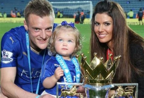 Jamie and Rebekah Vardy are expecting their second child...