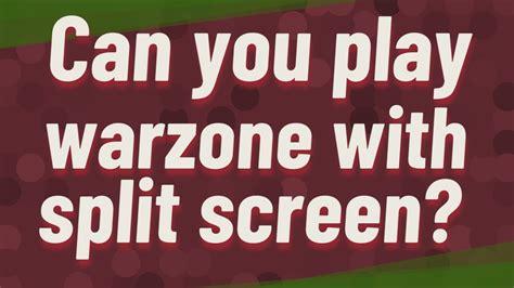 warzone screen play split
