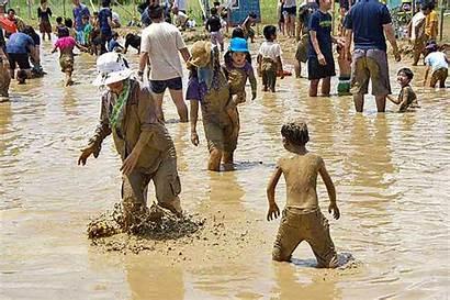 Mud Festival Animated Kin Highlights Fun Adults