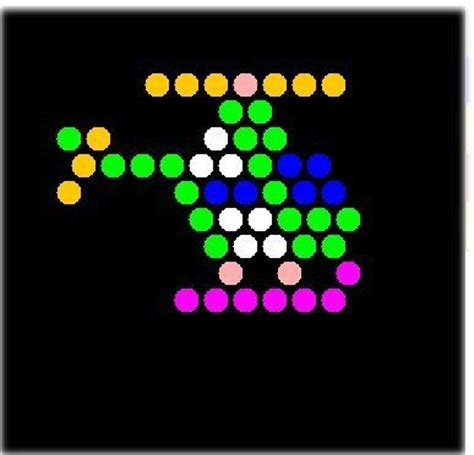 printable light bright patterns 32 best images about lite brite on perler bead