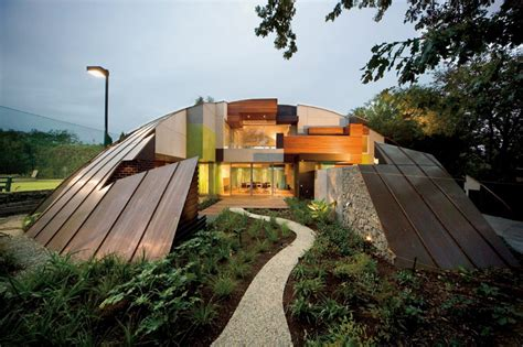 dome house  deconstructed puzzle  call home modern house designs