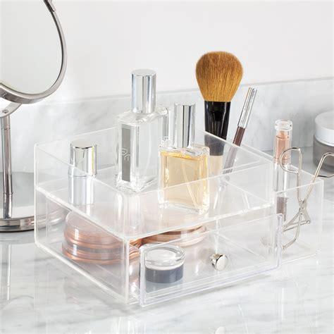 bo 238 te acrylique transparent rangement maquillage