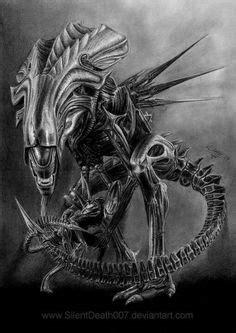 Die 70 besten Bilder von alien tattoos | Xenomorph, Alien