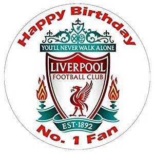 carousel cake topper liverpool fc happy birthday cake decoration caketopper