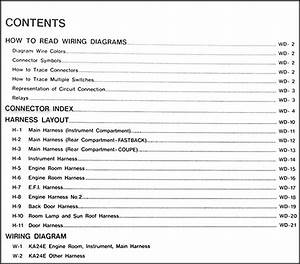 199nissan 240sx Electrical Wiring Diagrams Manual